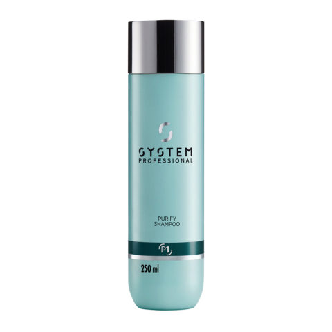 System Professional Purify Shampoo P1, 250ml - Shampooing Antipelliculaire