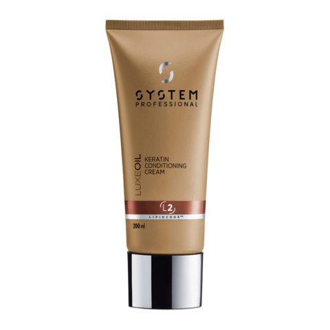 System Professional Repair Conditioner R2, 200ml - Apres - Shampooing Fortifiant pour Cheveux Abîmés