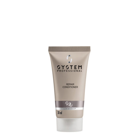 System Professional Repair Conditioner R2, 30ml - Apres - Shampooing Fortifiant pour Cheveux Abîmés