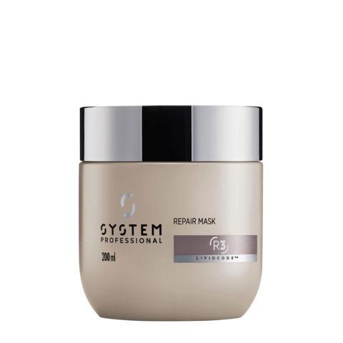 System Professional Repair Mask R3, 200ml - Masque Fortifiant pour Cheveux Abîmés