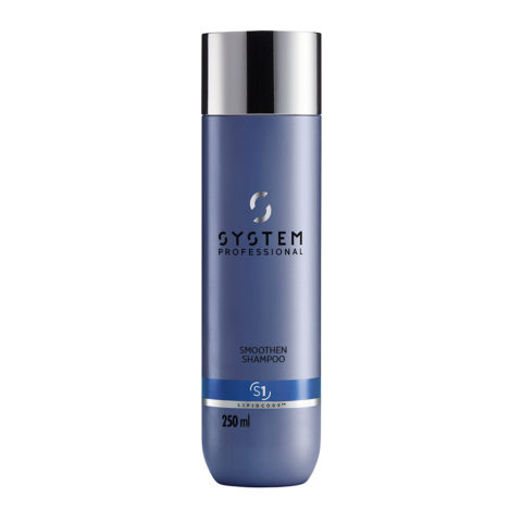 System Professional Smoothen Shampoo S1, 250ml - Shampooing Anti Frisottis