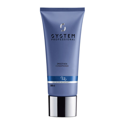 System Professional Smoothen Conditioner S2, 200ml - Apres - Shampooing Anti Frisottis