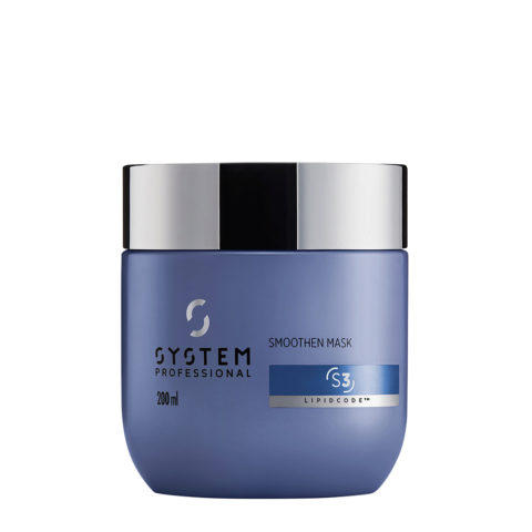 System Professional Smoothen Mask S3, 200ml - Masque Anti Frisottis