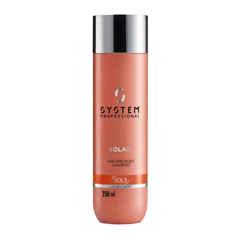 System Professional Solar Hair & Body Shampoo SOL1, 250ml - Shampooing Corps et Cheveux