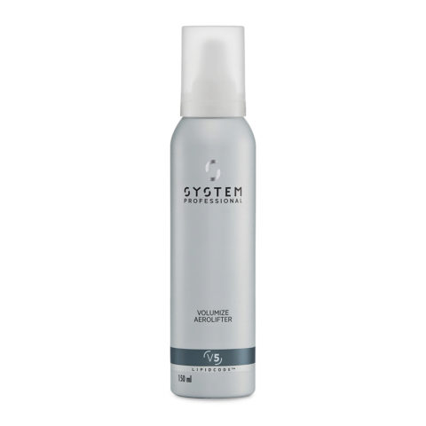 System Professional Volumize Aerolifter V5, 150ml - Mousse Volumatrice Cheveux fins