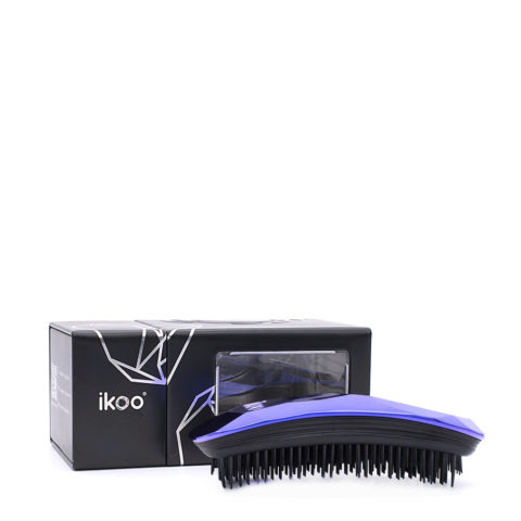 Ikoo Ergonomic Brush Black Trophy Wife purple