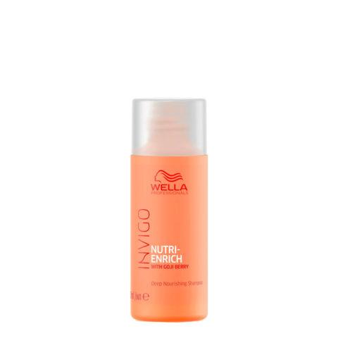 Wella Invigo Nutri-Enrich Deep Nourishing Shampoo 50ml - shampooing nutrition intense