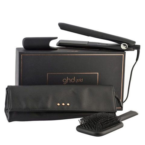 GHD Gold Styler Gift Set - Lisseur Set Pochette Et Brosse