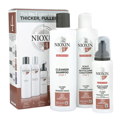 Nioxin System4 Kit XXL Complet Antichute