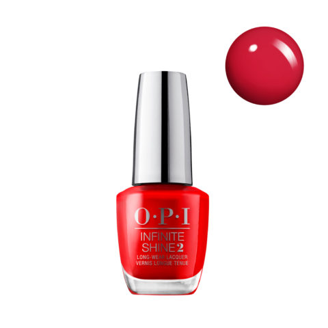OPI Nail Lacquer Infinite Shine IS L08 Unrepentantly Red 15ml