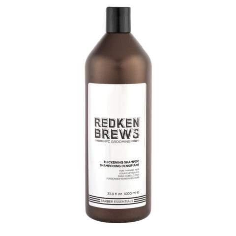 Redken Brews Man Thickening Shampoo 1000ml