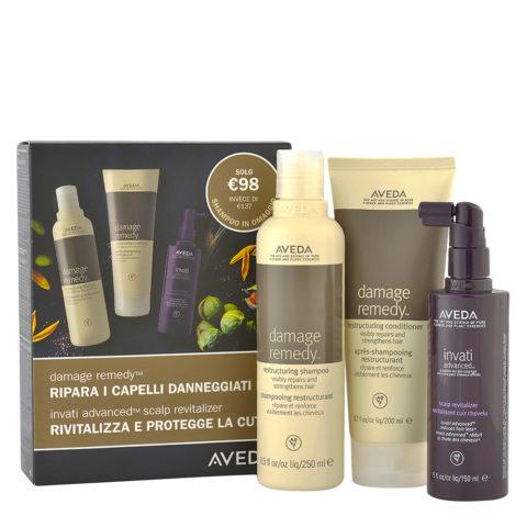 Aveda Damage Remedy Restructuring Kit and Shampoo Free