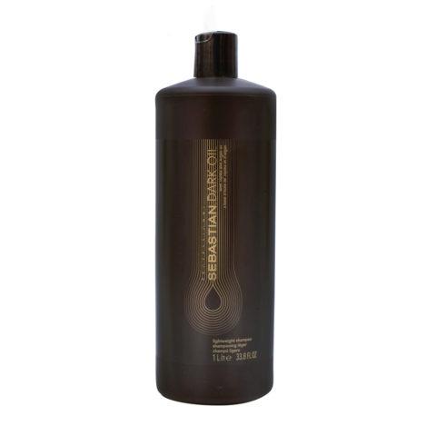 Sebastian Dark Oil Lightweight Shampoo 1000ml - Shampooing Hydratant léger