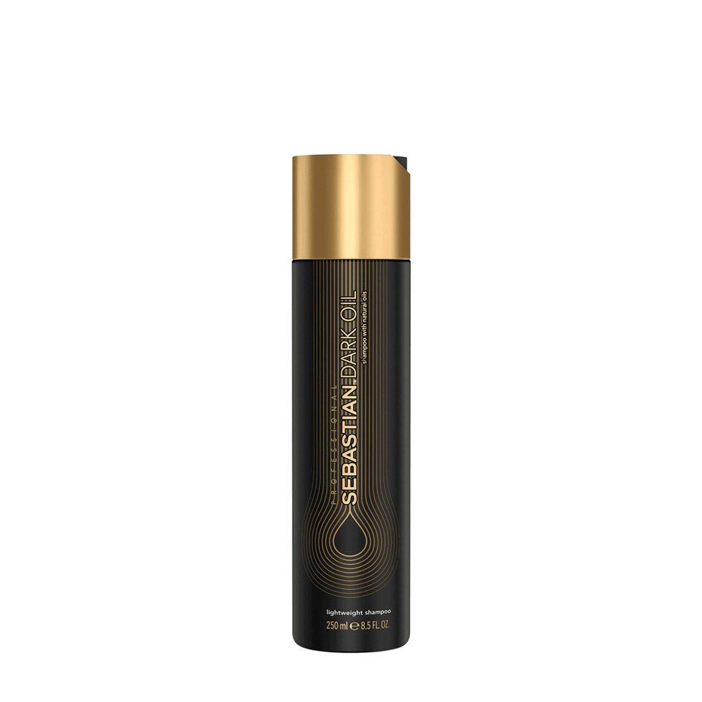 Sebastian Dark Oil Lightweight Shampoo 250ml - Shampooing Hydratant léger