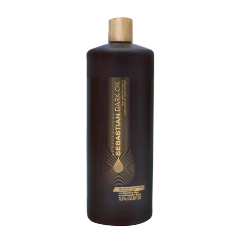 Sebastian Dark Oil Lightweight Conditioner 1000ml - Apres Shampooing Hydratant léger