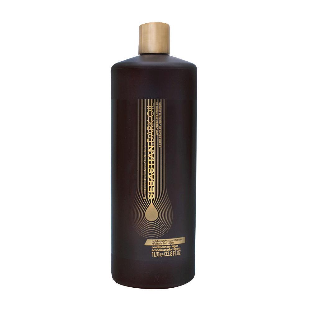 Sebastian Dark Oil Lightweight Conditioner 1000ml - Apres Shampooing Hydratant léger