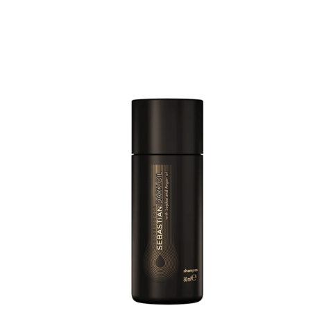 Sebastian Dark Oil Lightweight Shampoo 50ml - Shampooing Hydratant léger