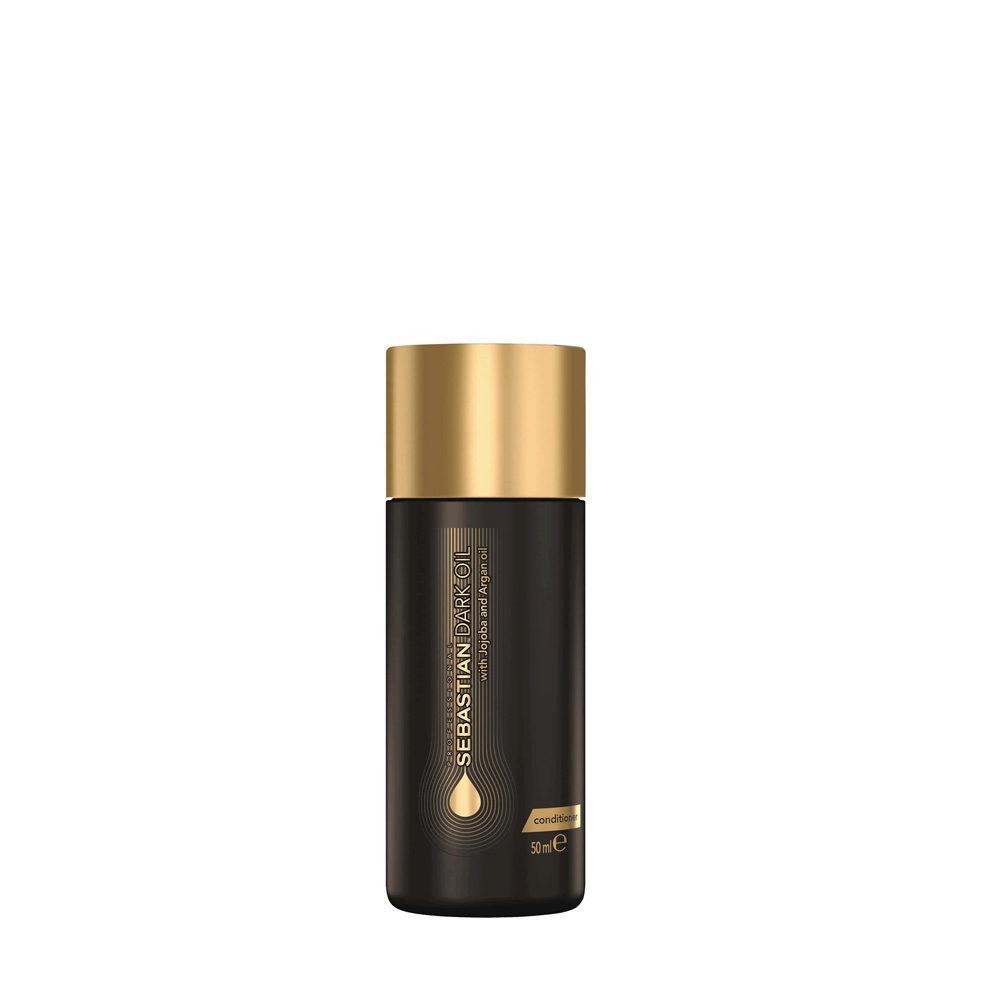 Sebastian Dark Oil Lightweight Conditioner 50ml - Apres Shampooing Hydratant léger
