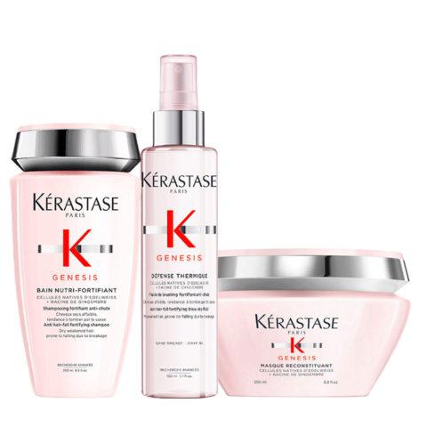 Kerastase Genesis Rituel De Nutrition Intensive Et Protecciòn Pour Cheveux Secs Et Epais