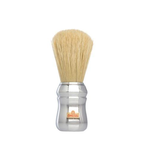 Omega Shaving Blaireau de rasage argent