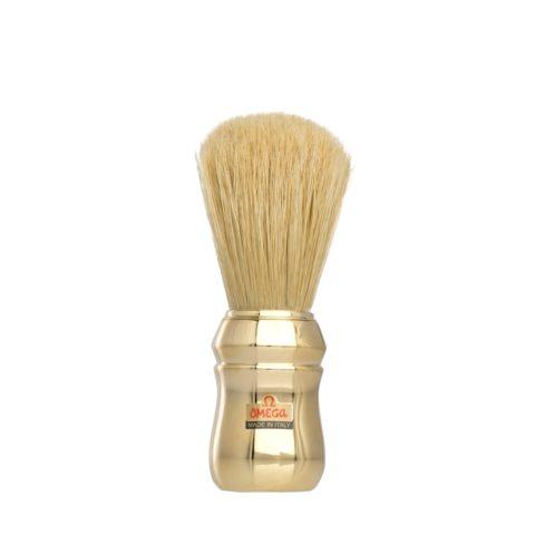 Omega Shaving Blaireau de rasage or