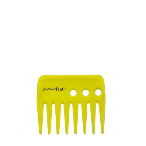 Gettin fluo Short Comb Yellow