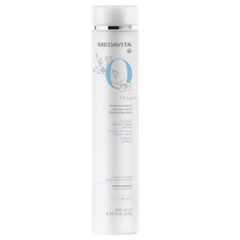 Medavita Requilibre Oxygen Detox Shampoo revitalizzante 250ml pH 5.5