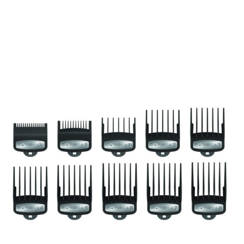 Wahl Pack 10 Cutting Guides Premium