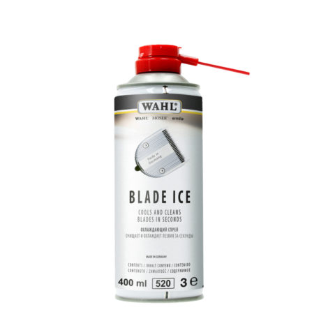 Wahl Blade Ice Spray Cools and Cleans Blades 400ml