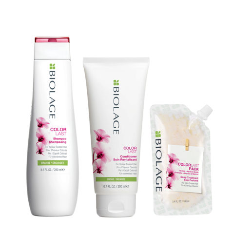 Biolage Colorlast Shampoo 250ml Conditioner 200ml Pack 100ml