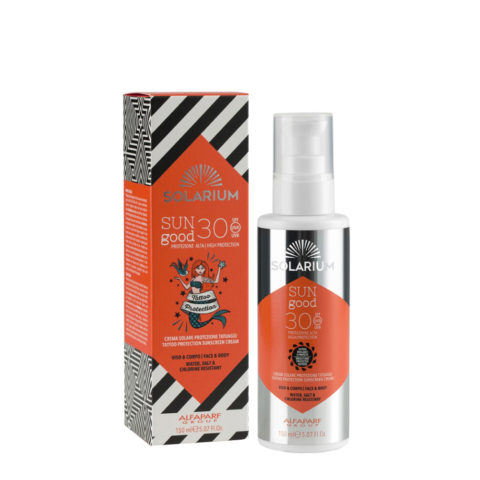 Solarium Tattoo Protection Sunscreen Cream SPF30 Visage Et Corps 150ml