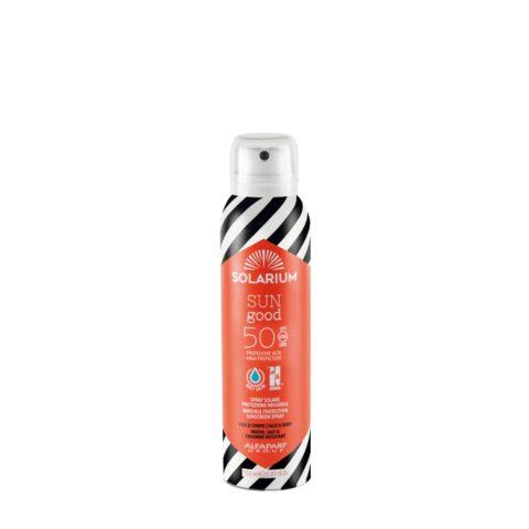 Solarium Invisible Protection Sunscreen Spray SPF50 Visage Et Corps 150ml