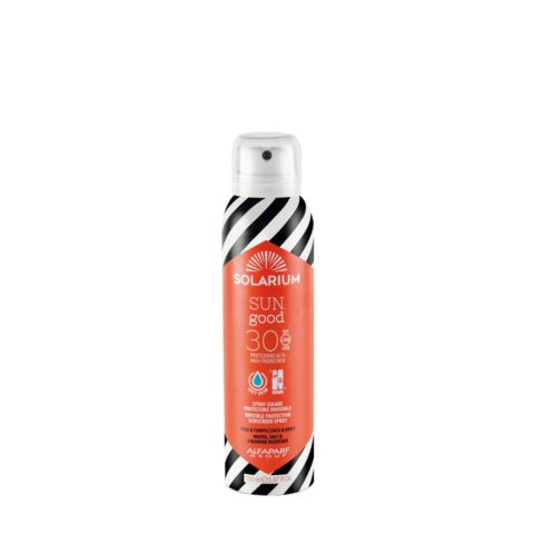 Solarium Invisible Protection Sunscreen Spray SPF30 Visage Et Corps 150ml