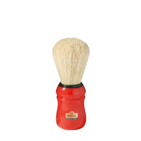Omega Shaving Blaireau de rasage Rouge