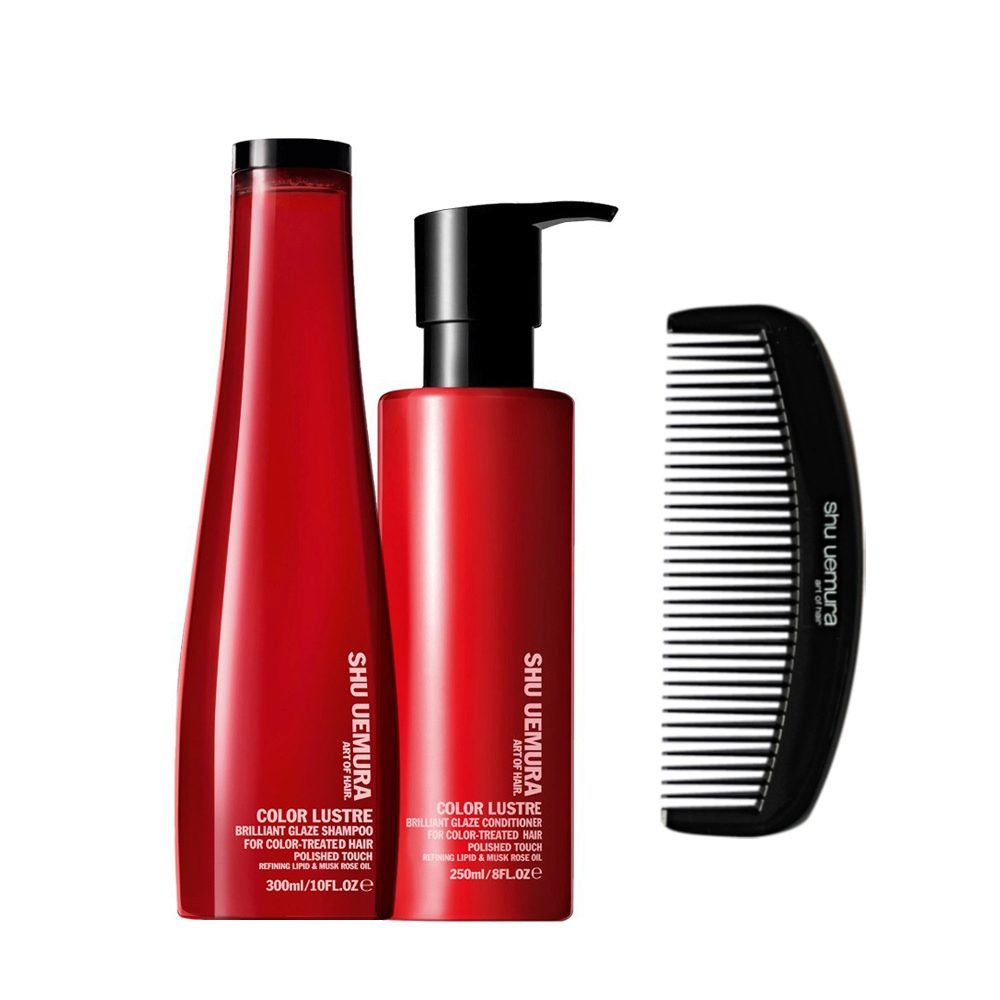 Shu Uemura Color lustre kit shampoo 300ml conditioner 250ml