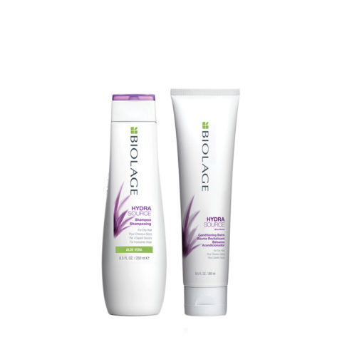 Biolage Hydrasource Shampoo 250ml Conditioning Balm 280ml