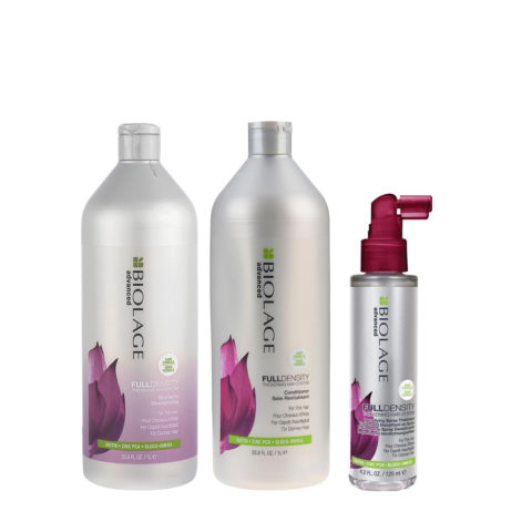 Biolage advanced FullDensity Shampoo 1000ml Conditioner 1000ml Spray 125ml
