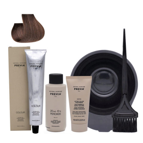 Previa Color Kit Do It Yourself 7.0 Blond