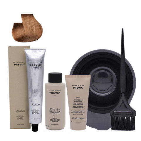 Previa Color Kit Do It Yourself 8.0 Blond Clair