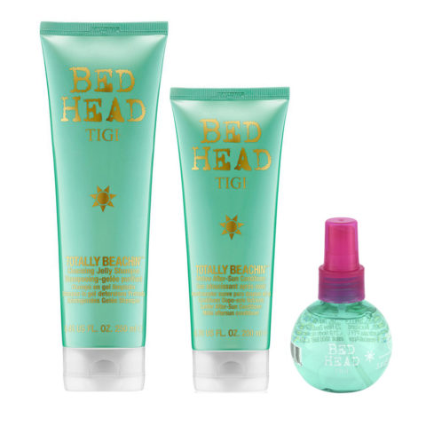 Tigi Bed Head Sun Kit Shampoo 250ml Conditioner 250ml Beach freak Salt Spray 100ml