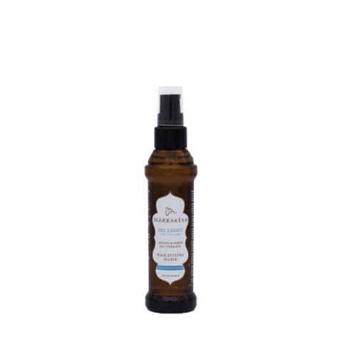 Marrakesh Fine Hair X Oil Light Hair Styling Elixir 60ml - Huile Hydratante Légère Pour Les Cheveux Fins