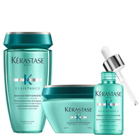 Kerastase Résistance Extentioniste Bain 250ml Masque 200ml Serum 50ml