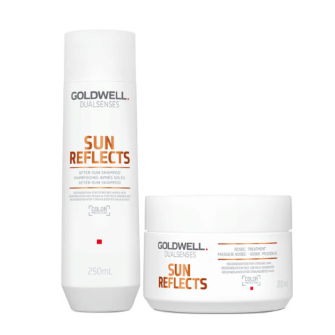 Goldwell Dualsenses Sun reflects After sun shampoo 250ml and After Sun Mask 200ml