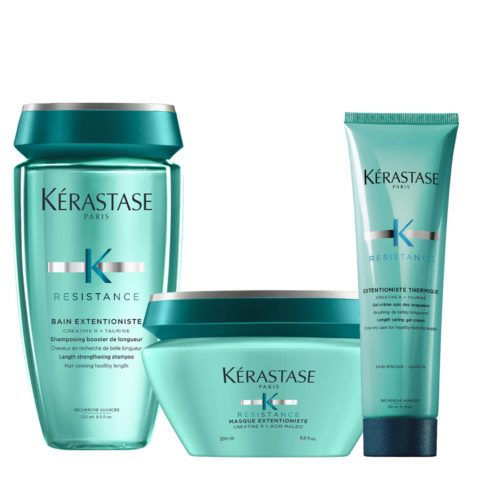 Kerastase Résistance Extentioniste Shampooing 250ml Masque 200ml Gel Crème Protection Thérmique 150ml