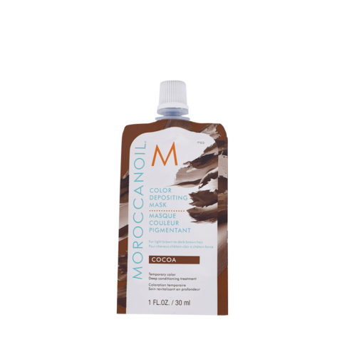Moroccanoil Color Deposit Mask Cocoa 30ml - Masque Coloré Cacao