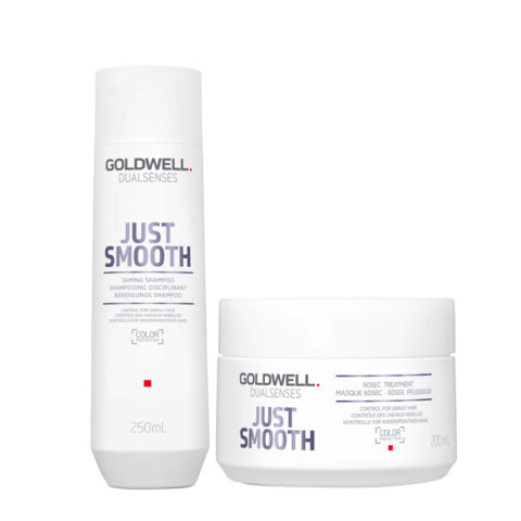 Goldwell Dualsenses Just Smooth Shampooing Disciplinant 250ml et Masque 200ml