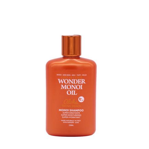 Tecna Wonder Monoi Oil Shampoo 250ml - Shampooing Solaire Super Hydratant