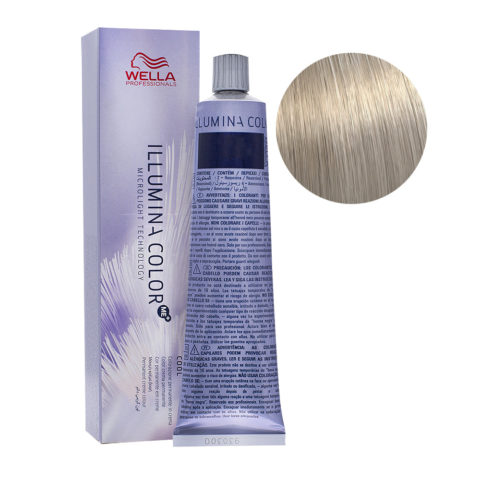 10/81 Blond platine nacré cendré Wella Illumina Color 60ml
