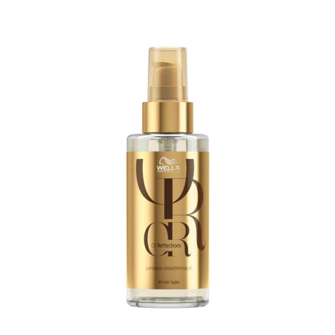 Wella Oil Reflections Luminous Smoothening Oil 100ml - huile lissante sublimatrice