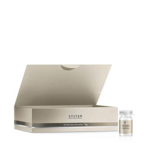 System Professional Repair Infusion R+, 20x5ml - Ampoules anti-casse pour cheveux affaibles et abîmés